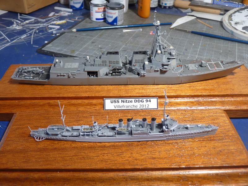 USS Badger - DD 126 1/700 FLYHAWK   P1110016