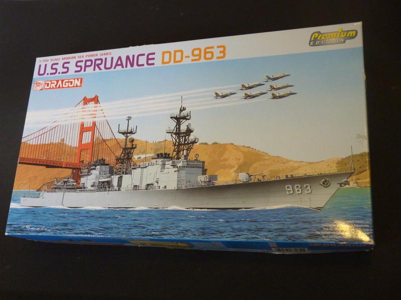 USS Comte de Grasse - DD 974 1/700 DRAGON P1110036