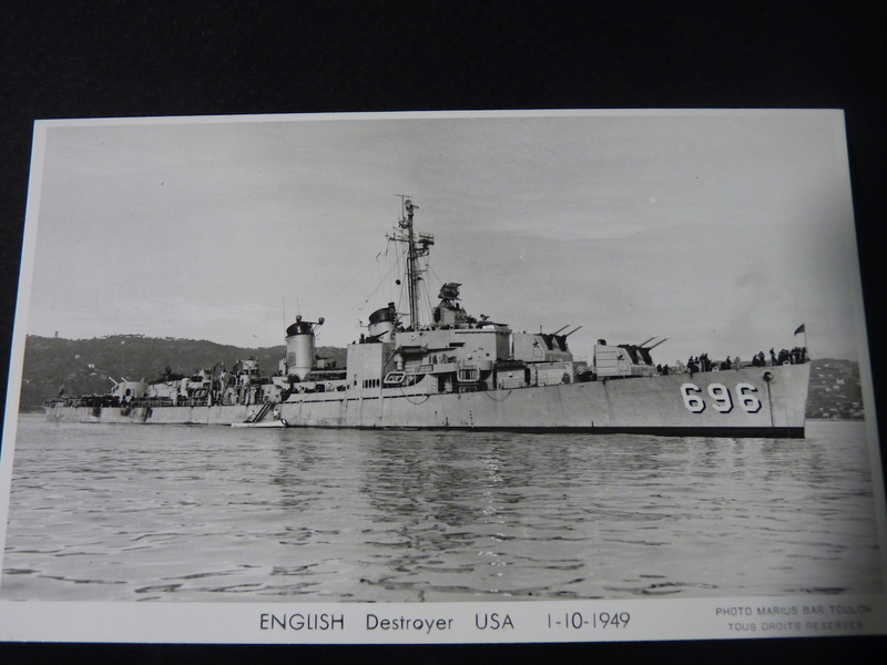 USS English - DD 696 1/700 PITT-ROAD/SKYWAVE P1110147