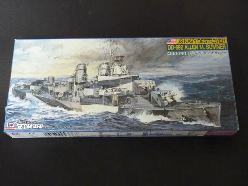 USS English - DD 696 1/700 PITT-ROAD/SKYWAVE P1110148