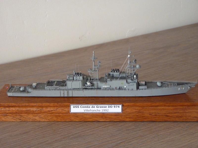 USS Comte de Grasse - DD 974 1/700 DRAGON P1110210