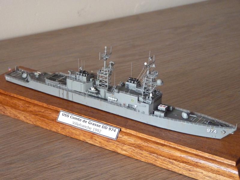 USS Comte de Grasse - DD 974 1/700 DRAGON P1110212