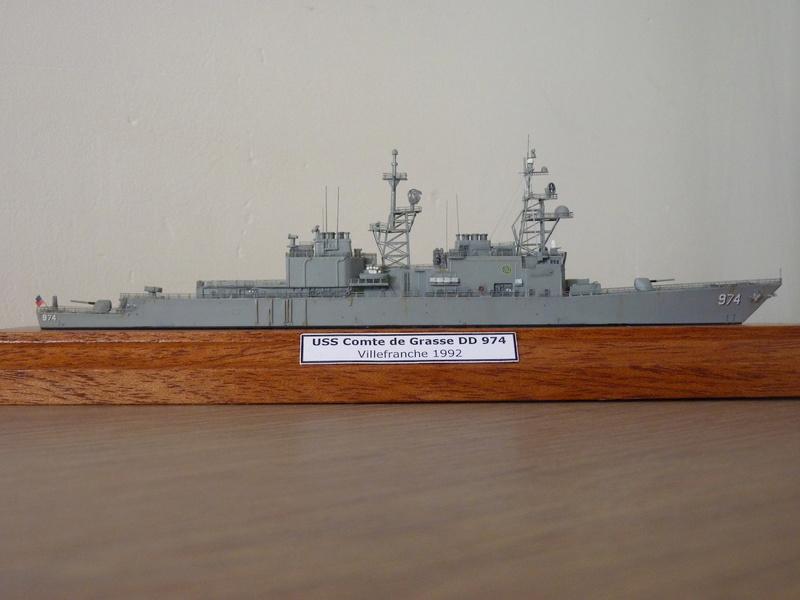USS Comte de Grasse - DD 974 1/700 DRAGON P1110217