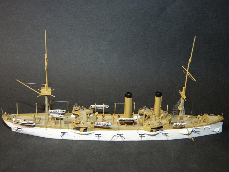 USS Chicago - croiseur protégé 1/700 COMBRIG - Page 4 P1110910