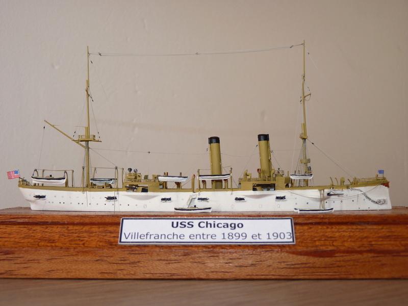 USS Chicago - Croiseur protégé 1/700 Combrig P1110923