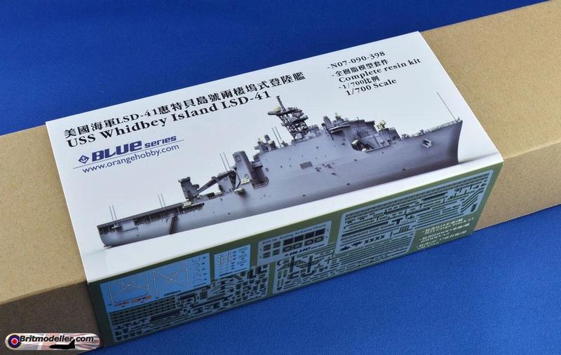 USS Tortuga - LSD 46 1/700 ORANGE HOBBY   Whidbe10