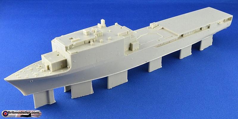 USS Tortuga - LSD 46 1/700 ORANGE HOBBY   Whidbe12
