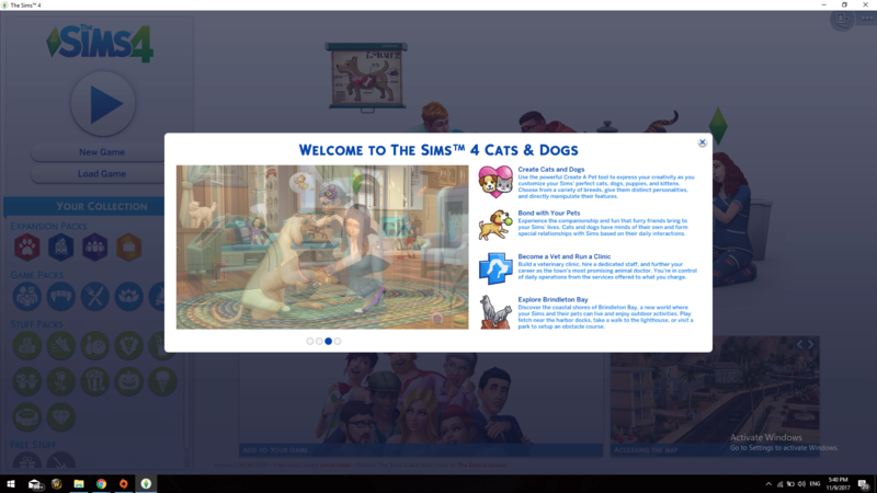 The Sims 4 Cats & Dogs. - Page 3 Screen10