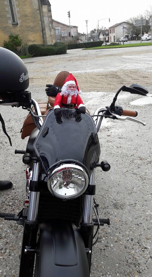 Noël motard pour les enfants malades à Bordeaux  24852310