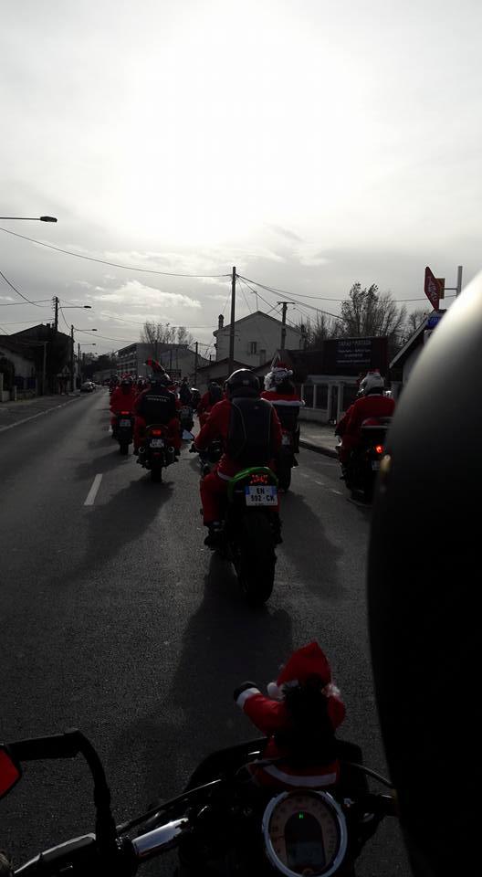 Noël motard pour les enfants malades à Bordeaux  24862010