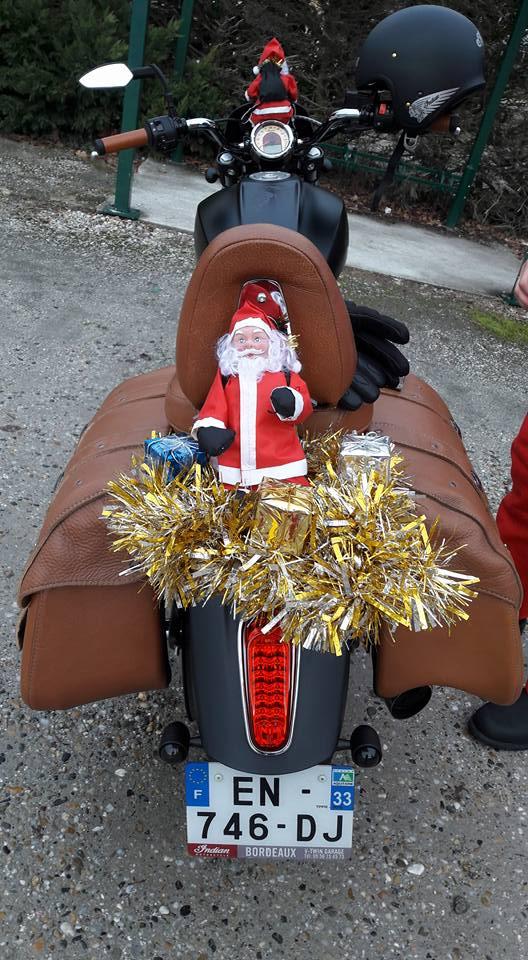 Noël motard pour les enfants malades à Bordeaux  24991110