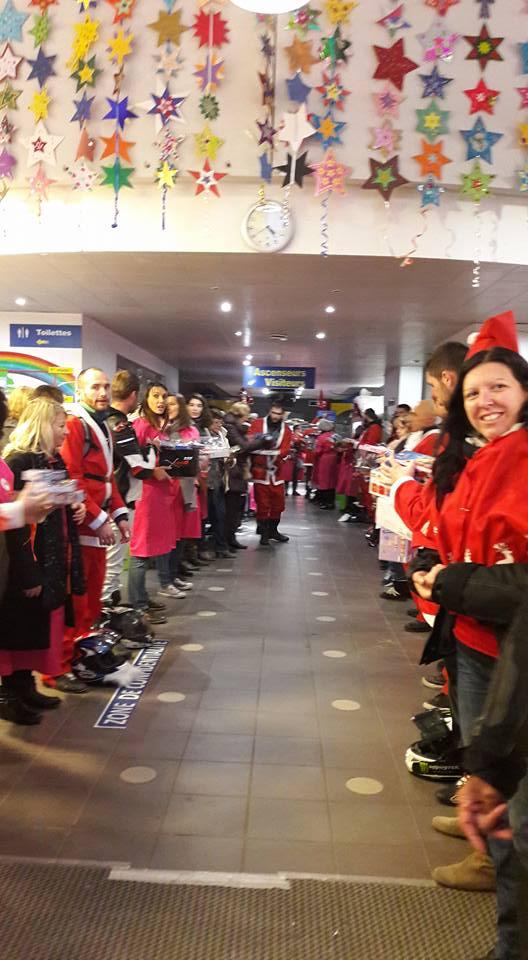 Noël motard pour les enfants malades à Bordeaux  25152010