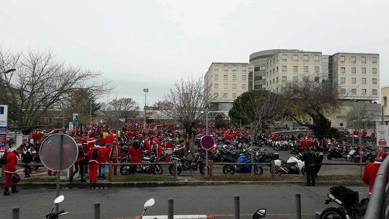 Noël motard pour les enfants malades à Bordeaux  25152110