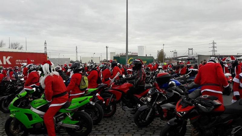 Noël motard pour les enfants malades à Bordeaux  25152210