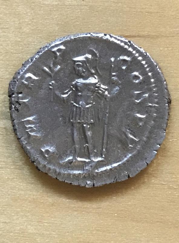 Denario de Alejandro Severo. P M TR P COS P P. Marte estante a izq. Roma. 74e31a10