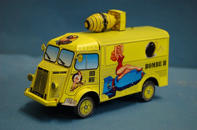 "Citroën type H ""Bombe H"" Finish15"
