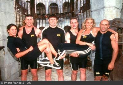 Fort Boyard 1997 - Émission 04 - Équipe Sophie Favier Fort-b10