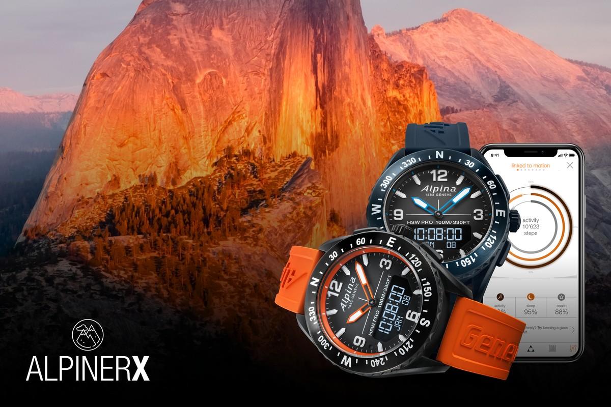 AlpinerX : Nouvelle smartwatch d'Alpina avec lancement Kickstarter Small10