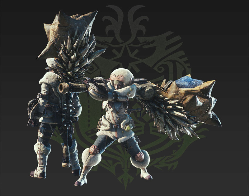 Présentation des armes de monster hunter world Corne_11