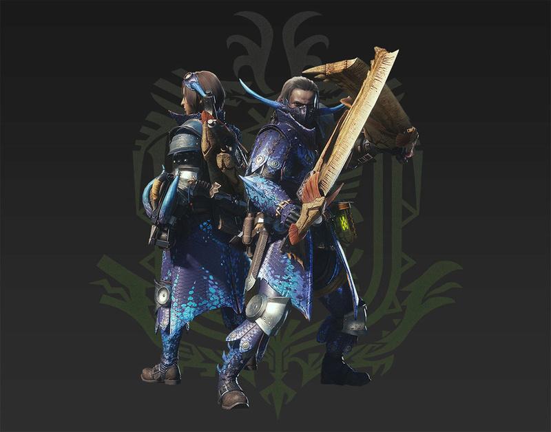 Présentation des armes de monster hunter world Double10
