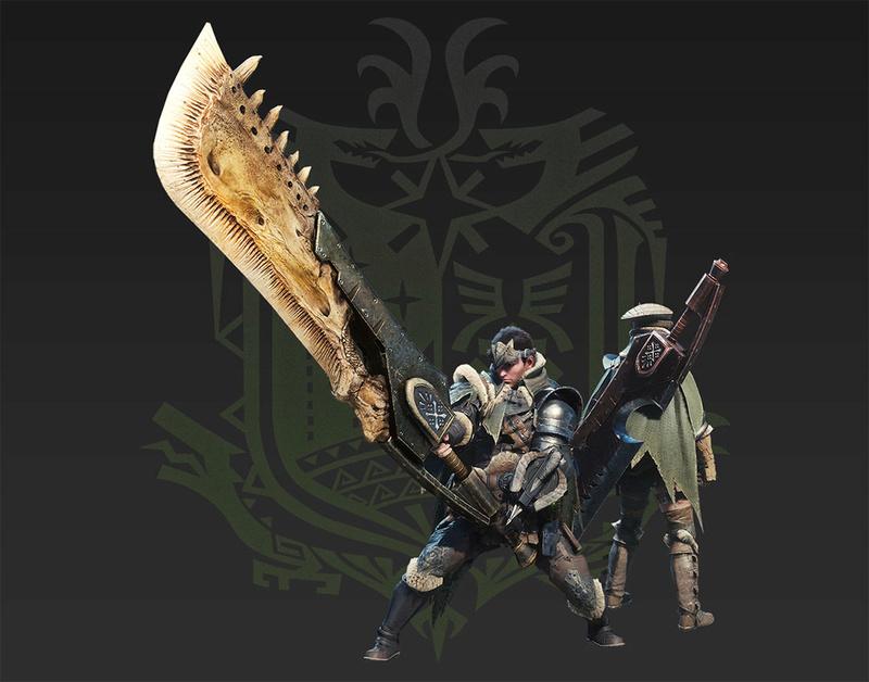Présentation des armes de monster hunter world Grande10