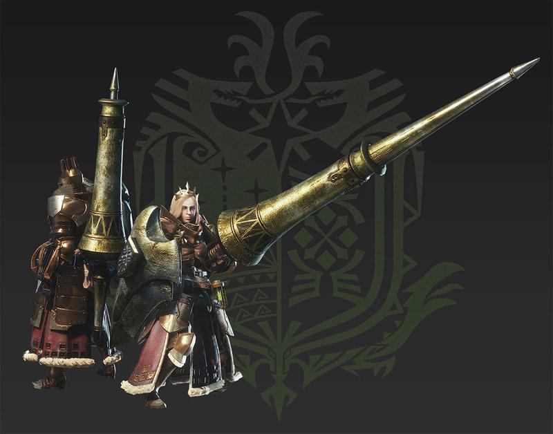 Présentation des armes de monster hunter world Lance11
