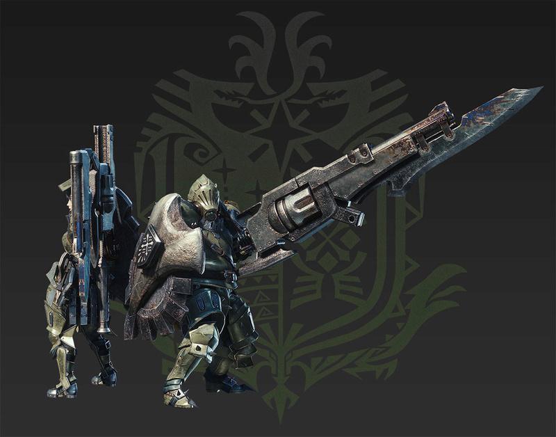 Présentation des armes de monster hunter world Lance_10
