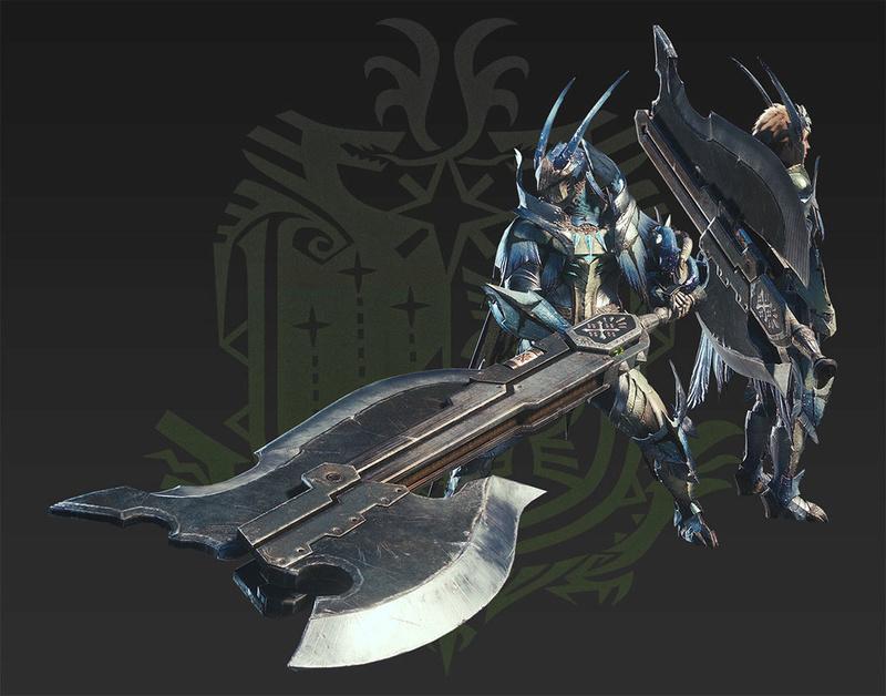 Présentation des armes de monster hunter world Morpho11