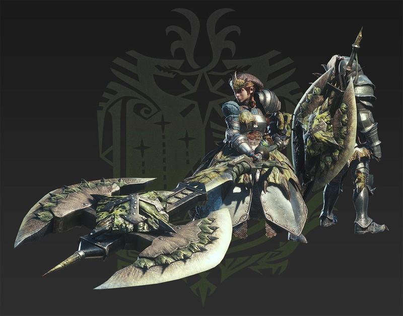 Présentation des armes de monster hunter world Volto_10
