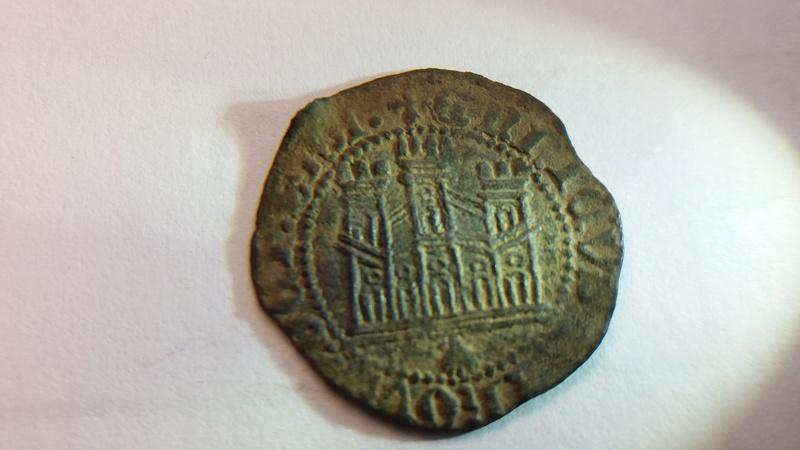 Dinero de Enrique IV. Emisión 1461. Coruña 20171219