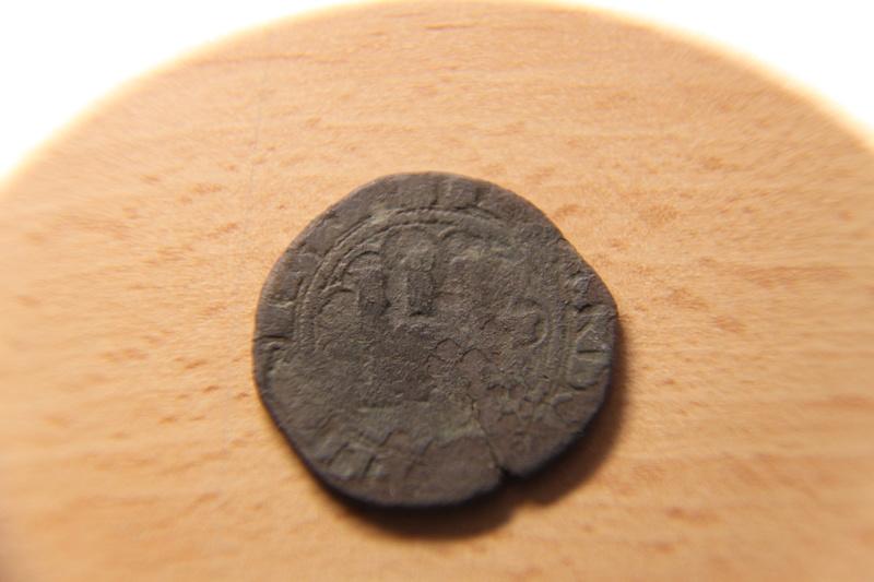 Dos maravedís a Nombre de los RRCC, ceca de Toledo. Img_1110
