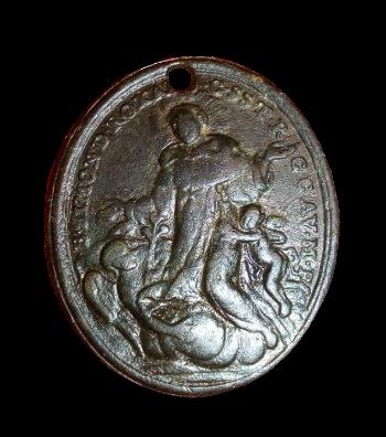 Virgen de los Remedios de la Fuensanta / Beato Simón de Roxas (R.M. SXVIII-O3799 111