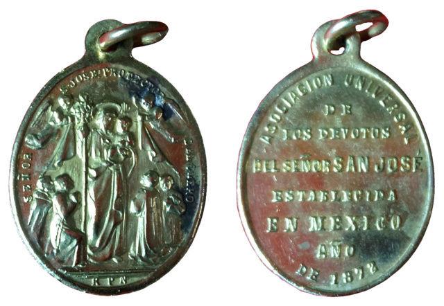 San José / Inscripción Asociación devotos S. José de Mexico. S. XIX 112