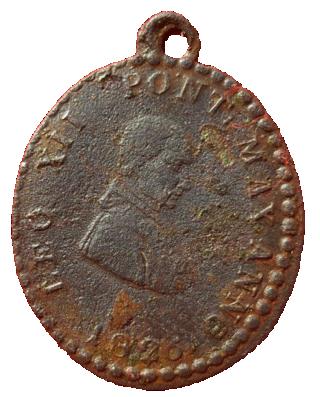 Medalla por el Jubileo de 1825 LEO XII 12a10