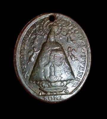 Virgen de los Remedios de la Fuensanta / Beato Simón de Roxas (R.M. SXVIII-O3799 1a11