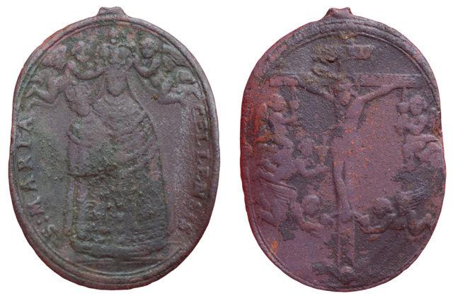 Santa María de Mariazel/ Crucifijo con ángeles, S. XVII (MAM) 2210