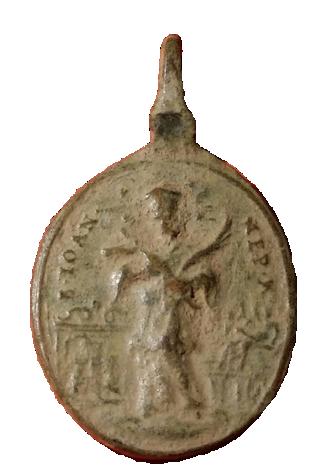 Santa Maria de Sastin (Sedembolestná Panna Mária)/ San Juan Nepomuceno, S. XVIII(MAM) 2210