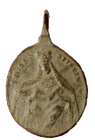 Santa Maria de Sastin (Sedembolestná Panna Mária)/ San Juan Nepomuceno, S. XVIII(MAM) 22211