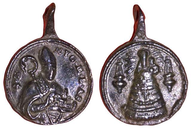 San Emigdio de Ascoli /Madonna de Loreto S.XVIII (R.M. SXVIII-C156) 3310