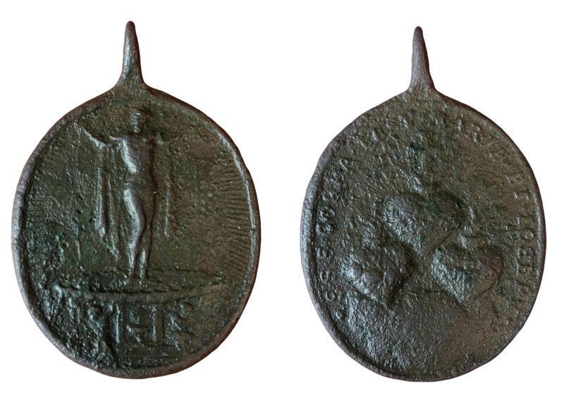 Cristo fuente de vida - Sagrados Corazones de jesús, María y José, S. XVIII 33a11