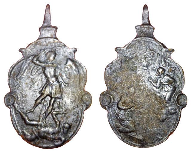 Arcángel S. Miguel - Anunciación de María -s. XVII- 611