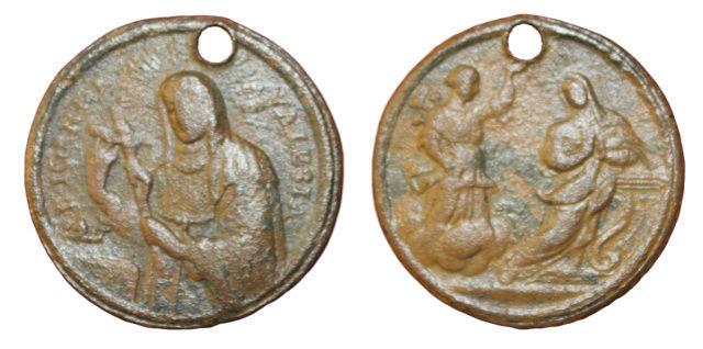 Santa Juana de Valois / Anunciación, S. XVIII (R.M. S.XVIII-C146 ) 7new10