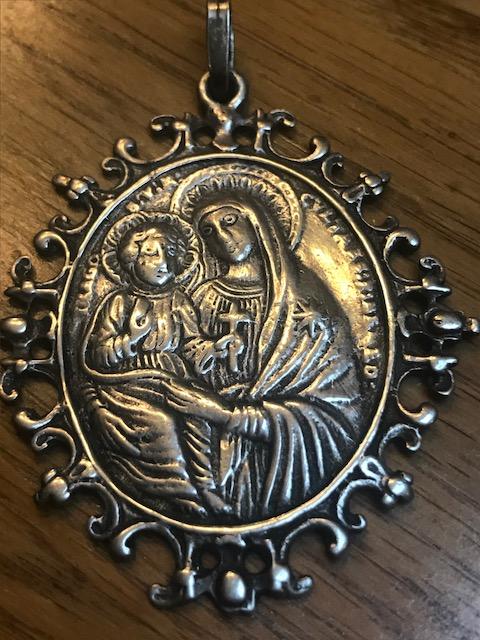Virgen Misericordia de San Benito en Piscinula / Inscripción, S. XVIII Image110