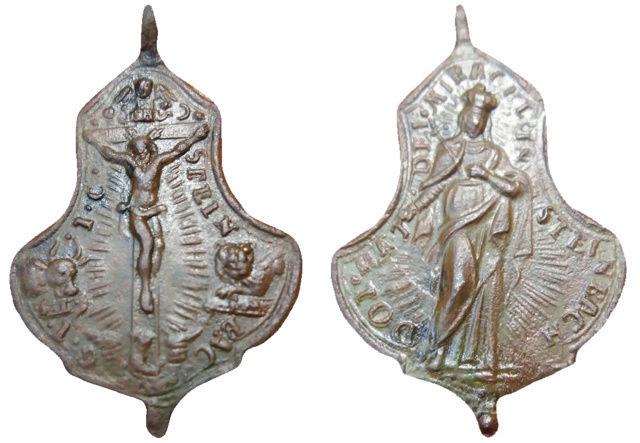 Maria Steinbach (Mater Dolorosa de Steinbach)/ Crucifijo, S.XVIII (R.M. SXVIII-Ot 19) Steinb10