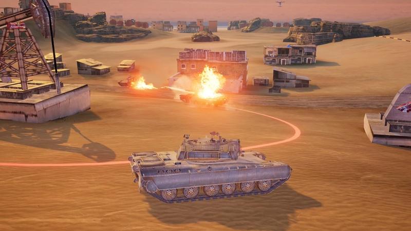 """Armored Warfare débarque ....sur Mobile ! (""""Assault"""") Mobile11"""