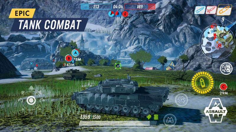 "Armored Warfare débarque ....sur Mobile ! (""Assault"") Tfsvww10"