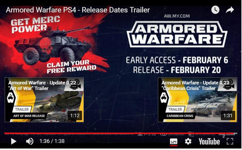 Armored warfare sort sur PS4 ! Untitl13