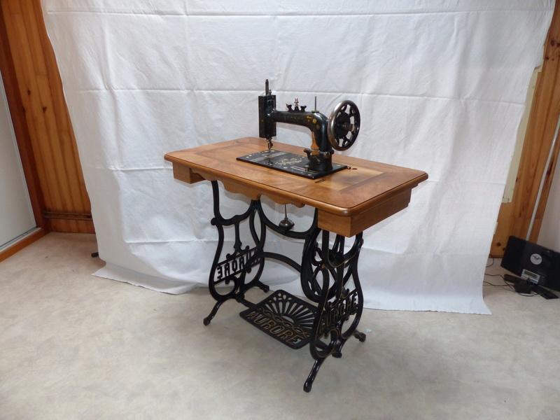 Restauration d'une machine aurore de 1889 P1160910