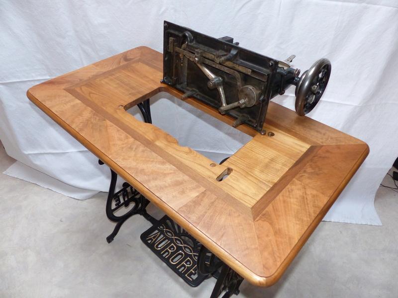 Restauration d'une machine aurore de 1889 P1160911