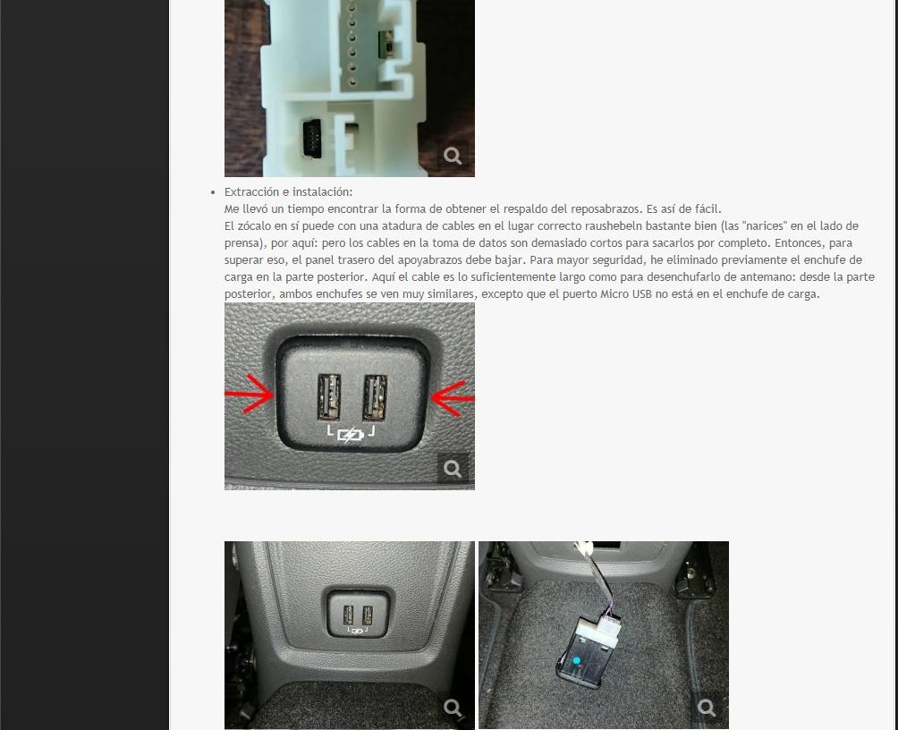 [Brico Astra K] Sustituir USB del cajón de apoyabrazos por hub integrado. 210